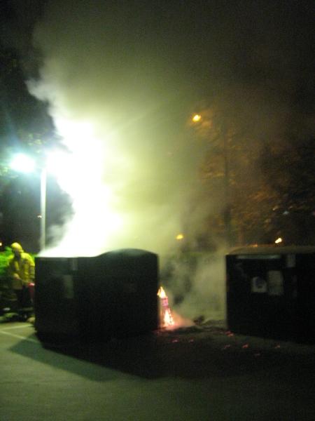 Brand vid Bennets väg i Rosengård. En Ilmareffekt?